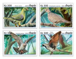 Angola  2018  Pigeons  Fauna  S201901 - Angola