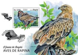 Angola  2018  Fauna  Birds Of Prey  S201901 - Angola