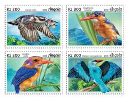 Angola  2018  Fauna   Kingfishers  S201901 - Angola