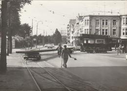 Bruxelles ,foto , Photo , Tram électrique , Tramway ; A SITUER - Transport Urbain En Surface