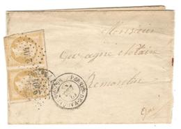 14620 - PERNES DE VAUCLUSE - Marcophilie (Lettres)