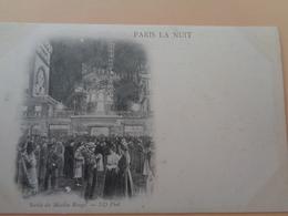 Paris La Nuit - Sortie Du Moulin Rouge - Greetings From...