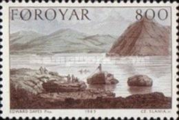 USED STAMPS Faroe-Islands - Paintings - Stanley's Journey -1985 - Faroe Islands