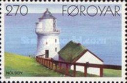 MNH STAMPS Faroe-Islands - Lighthouses -1985 - Faroe Islands