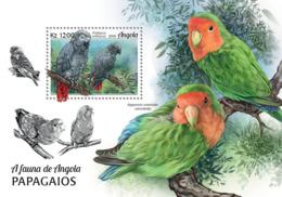 Angola  2018  Fauna Parrots  S201901 - Angola