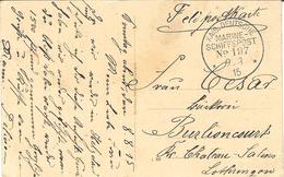 FeldpostKarte -from Helgoland  - KAIS. DEUTSCHE / MARINE SCHIFFSPOST /N° 197 - Covers & Documents
