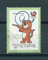 1989 Ecuador Olympic Games Seoul Used/gebruikt/oblitere - Ecuador