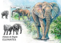 Angola  2018  Fauna Elephants  S201901 - Angola