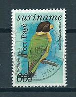 1994 Suriname Overprint,birds,oiseaux,vögel,Port Payé Used/gebruikt/oblitere - Suriname