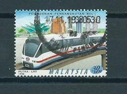 1998 Malaysia Train,railways,zug,trein Used/gebruikt/oblitere - Maleisië (1964-...)