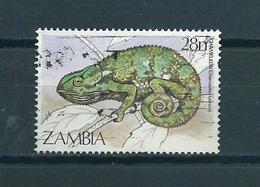 1984 Zambia Kameleon,reptiles,animals Used/gebruikt/oblitere - Zambia (1965-...)