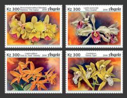 Angola  2018  Flower Orchids  S201901 - Angola