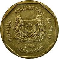 Monnaie, Singapour, Dollar, 2006, Singapore Mint, TTB, Aluminum-Bronze, KM:103 - Singapour