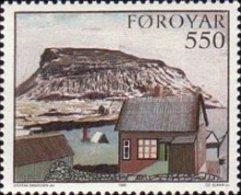 MNH STAMPS Faroe-Islands - Faroese Art  -1985 - Faroe Islands