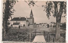 Gueugnon - L'Eglise Vue De La Passerelle  -  Epreuve 1940 - Photo Souple - CPA° - Gueugnon