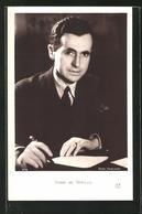 AK Henri De Kerillis Am Schreibtisch Einen Brief Schreibend - Writers