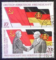 DDR 1972 Mi-Nr. 1759/60 O Used - DDR