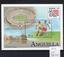 """Anguilla  1994 """"Coppa Del Mondo 1994 """"  (  BF -101-  ) **MNH /  VF - Coppa Del Mondo"""