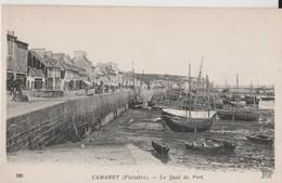 CAMARET  - LE QUAI DU PORT - Camaret-sur-Mer