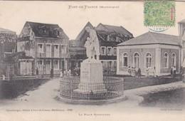 CARTOLINA - MARTINIQUE - FORT. DE FRANCE- LA PLACE SCHOELCHER - Fort De France