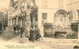 43501654 Bruxelles_Bruessel Rue De L'Etuve Et Manneken Pis  Bruxelles_Bruessel - Belgio