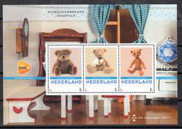 Nederland 2017 Persoonlijke Zegels PostNL Eindejaarsbeurs Barneveld Nr 12: Thema Antieke Teddybeer, Antique Teddy Bear - Ongebruikt