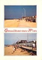 BERNIERES SUR MER Station Balneaire Familiale Vues Diverses De La Plage 18(scan Recto Verso)ME2676 - France