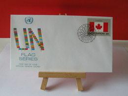 Nations Unies > Office De Genève - Canada - 23.9.1983 - FDC 1er Jour - Office De Genève