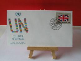 Nations Unies > Office De Genève - United Kingdom (Royaume-Uni)- 23.9.1983 - FDC 1er Jour - Office De Genève