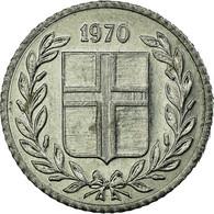 Monnaie, Iceland, 10 Aurar, 1970, TTB, Aluminium, KM:10a - Islande