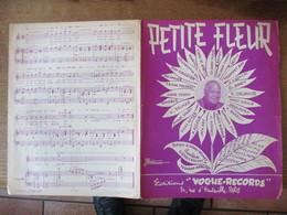 PETITE FLEUR MUSIQUE DE SYDNEY BECHET ET FERNAND BONIFAY PAEOLES DE SIDNEY BECHET 1958 - Partitions Musicales Anciennes