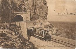 06 Route De NICE à Monaco Tram 1906 - Transport (rail) - Station