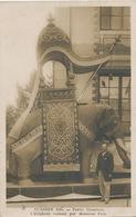Decor Elephant Exécuté Par Mr Pain à Auxerre En 1908 Royal Elephant - Éléphants