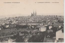 19 / 3 / 9  -  CLERMMONT - FERRAND  ( 63 )  VUE  GÉNÉRALE - Clermont Ferrand