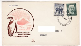 M460 Australian Antarctic Territory 1962 MAWSON To Hungary - Territoire Antarctique Australien (AAT)