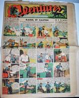 Rare Revue Aventures Spécial Noël 19 Décembre 1939 - Magazines Et Périodiques