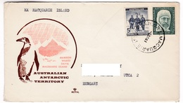M463 Australian Antarctic Territory 1961 MACQUARIE ISLAND To Hungary - Territoire Antarctique Australien (AAT)