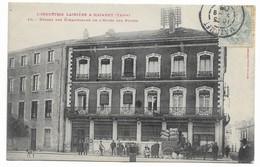 81 INDUSTRIE LAINIERE A MAZAMET Départ Des échantillons De L'hotel Des Postes - Mazamet