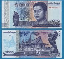 CAMBODIA 1000 Riels 2016 P# NEW King Norodom Sihanouk - Cambodia