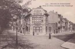 Koekelberg - Avenue Des Gloires Nationales Et Rue Vanderborght - Circulé En 1924 - Animée - TBE - Koekelberg