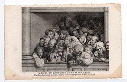 CPA - GRAVURE - MOEURS ET COUTUMES DE L'ANCIEN PARIS N° 399 - Arts