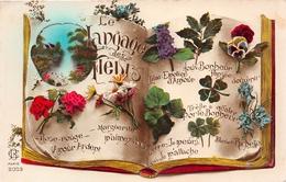 ¤¤  -   Carte Fantaisie  -  Le Langage Des Fleurs    -  ¤¤ - Flores, Plantas & Arboles