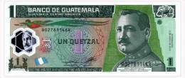 GUATEMALA 1 QUETZAL 2012 Pick 115b Unc - Guatemala