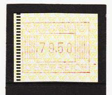 FOX65 ÖSTERREICH 1983 ANK ( - ) AUTOMATENMARKE 1. AUSGABE ** Postfrisch Siehe ABBILDUNG - 1981-90 Ungebraucht