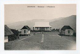 - CPA ONONGHE (Papouasie-Nouvelle-Guinée) - Résidence - Edition Missionnaires Du Sacré-Coeur D'Issoudun - - Papua-Neuguinea
