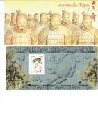 FRANCE  2010 Bloc Souvenir N°47 Nouvel An Chinois Année Du Tigre - Souvenir Blocks
