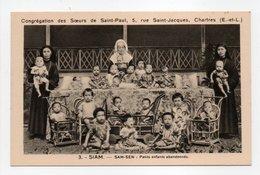 - CPA SAM-SEN (Siam / Thaïlande) - Petits Enfants Abandonnés - Edition Congrégation Des Soeurs De Saint-Paul - - Thaïlande