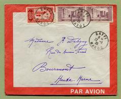 SAFFI  : LETTRE PAR AVION De 1928 - Maroc (1891-1956)