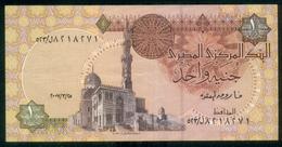 EGYPT / ONE POUND / DATE : 25-3-2007 / P-50(8) / PREFIX : L523 / SULTAN QUAYET BEY MOSQUE / ABU SIMBEL TEMPLE / USED - Egypte
