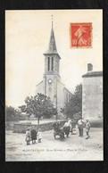 MONTRAVERS : PLACE DE L'EGLISE - Autres Communes